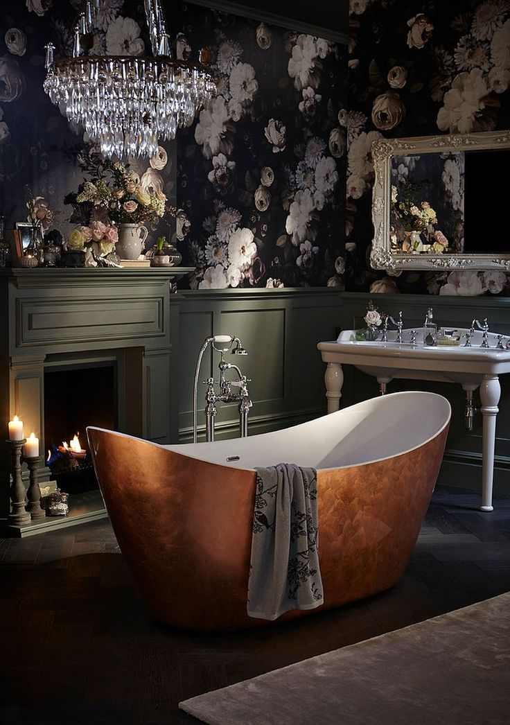 44 Lovely Shabby Chic Bathrooms Decorating Ideas - EcstasyCoffee