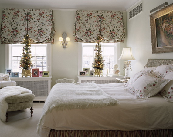 Christmas Decorations To Make For Your Bedroom : Stunning christmas bedroom decorating ideas and inspiration