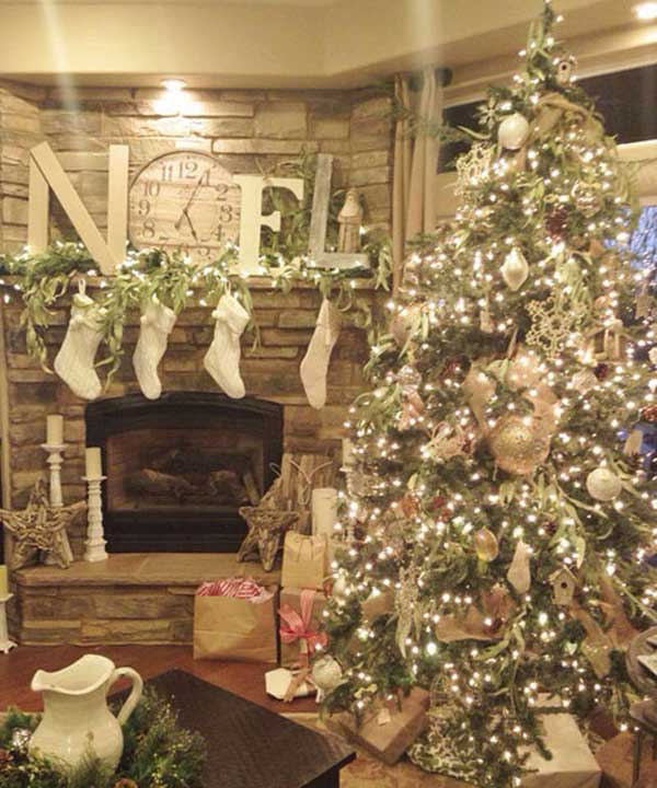 32 festive christmas tree decorating ideas - Pics Of Decorated Christmas Trees
