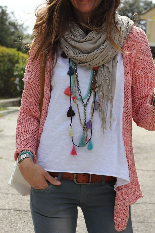 30 Super Stylish Ways To Tie A Pashmina Scarves Shawl