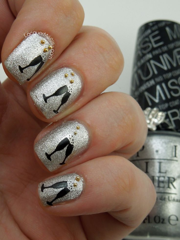 26 new years eve nail art designs ideas ecstasycoffee new year nail art prinsesfo Images