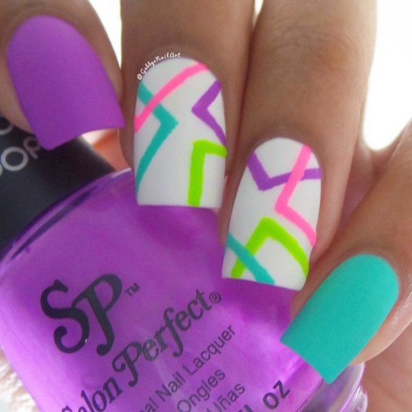 Bright Colors Nails | Best Nail Designs 2018