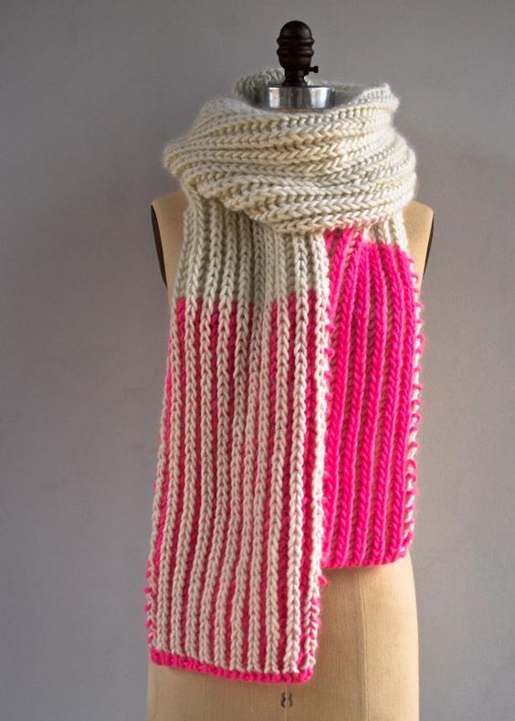 40 Knitted Scarves Ideas For Fashionable Girls 187 Ecstasycoffee