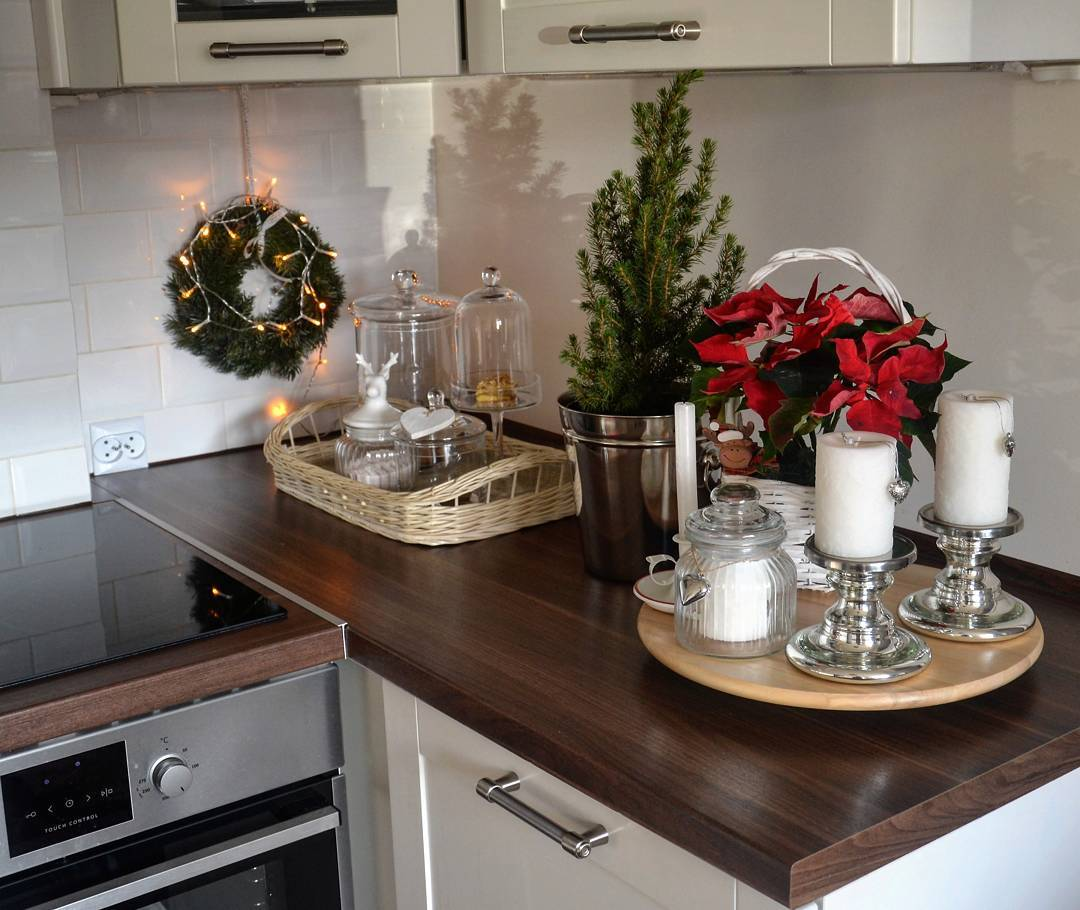 Christmas Kitchen : 60 Modern Christmas Kitchen Decorating