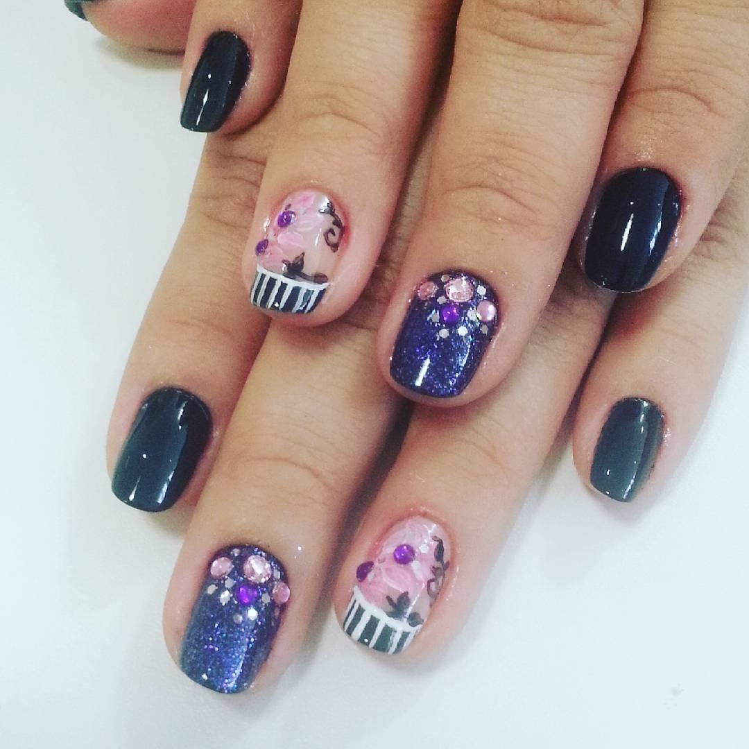 Purple Nail Art: 46 Cute Purple Nail Art Ideas That Are So Cute