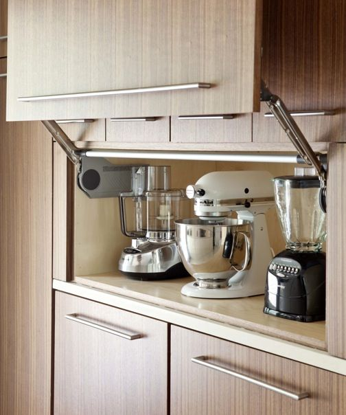 35 Variety Of Appliances Storage Ideas For Your Kitchen