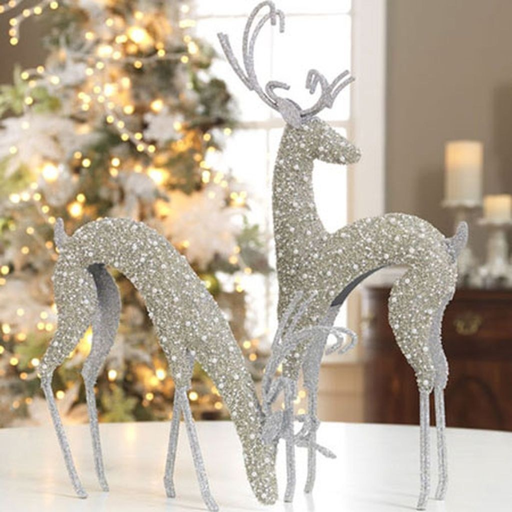 50 Glistening Vintage White Christmas Decoration Ideas ...